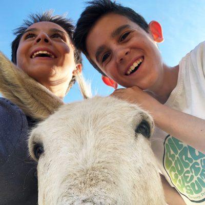 Agroturismo-El-Capriolo-Selfie-Burro