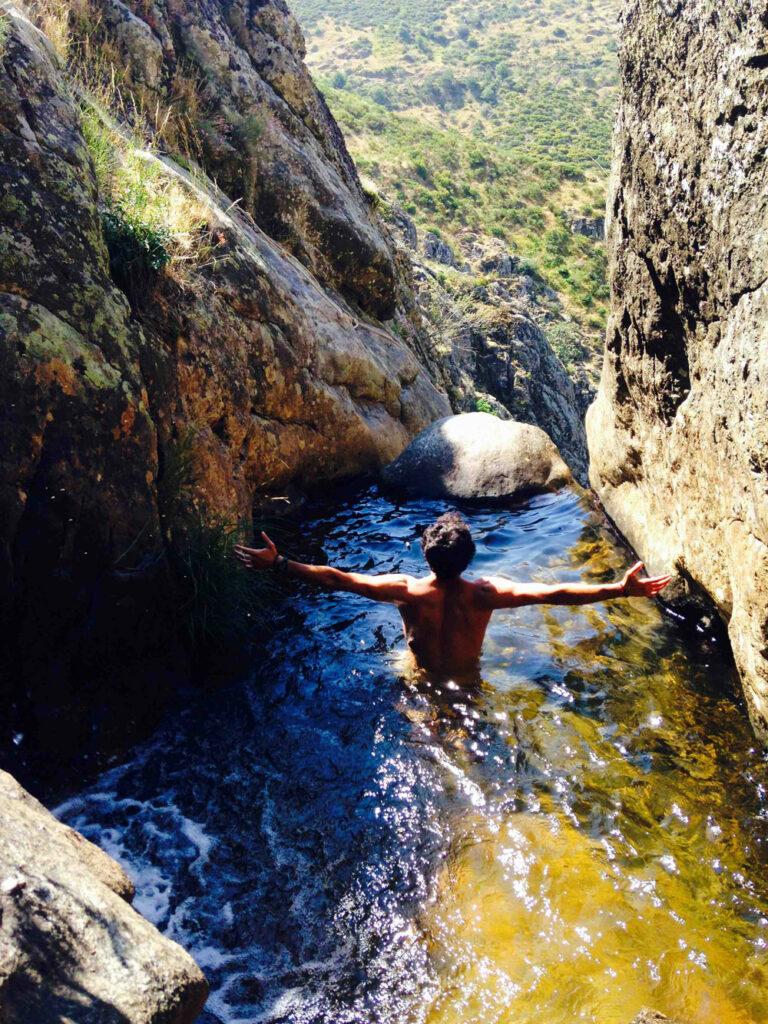 Cascadas de agua de la Sierra Norte