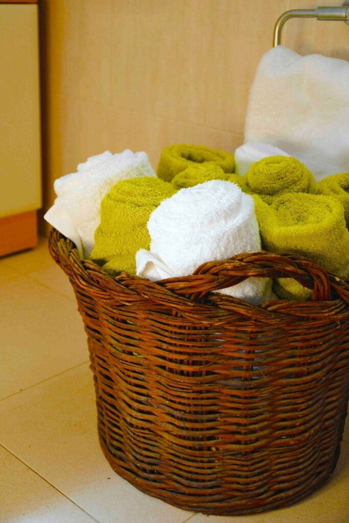 detalle toallas alojamiento rural el capriolo agroturismo