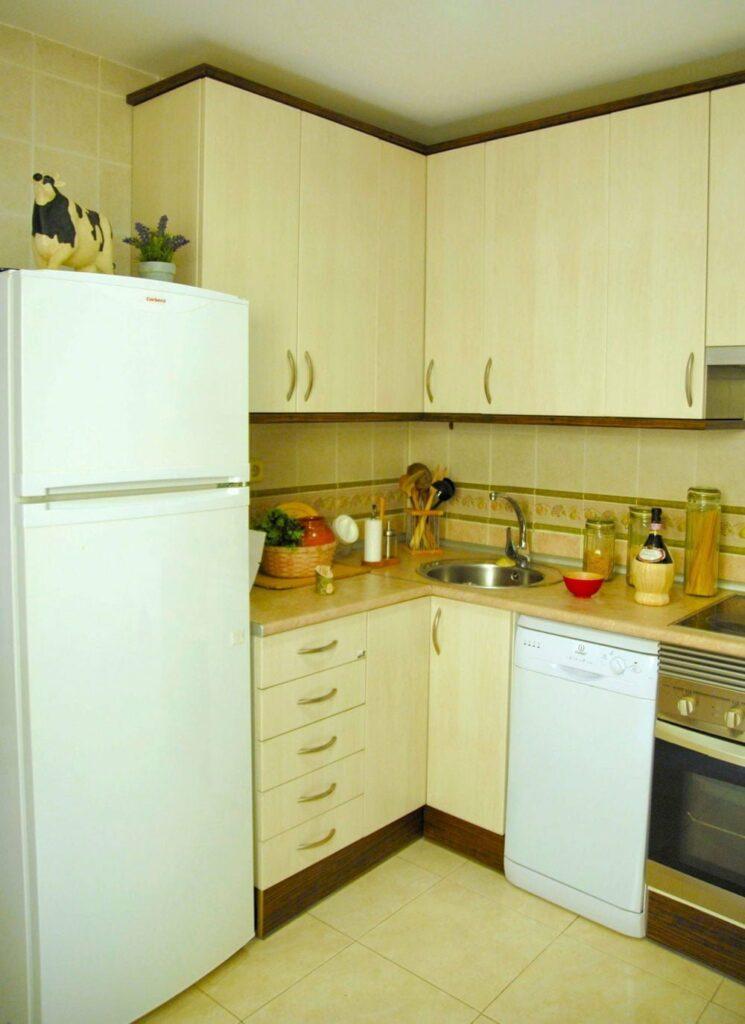 foto de la cocina de los alojamientos rurales siena el capriolo