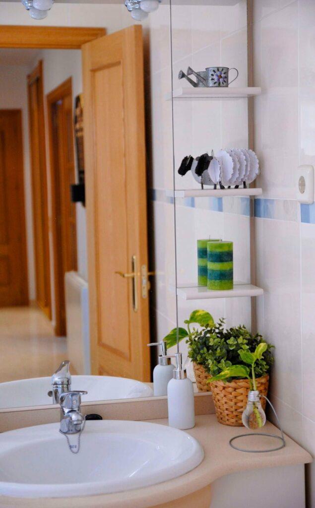 baño de los alojamientos rurales el capriolo