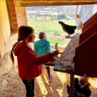 casa rural con granja