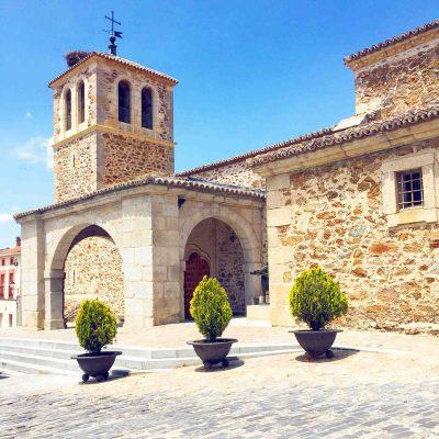 iglesia de garganta de los montes