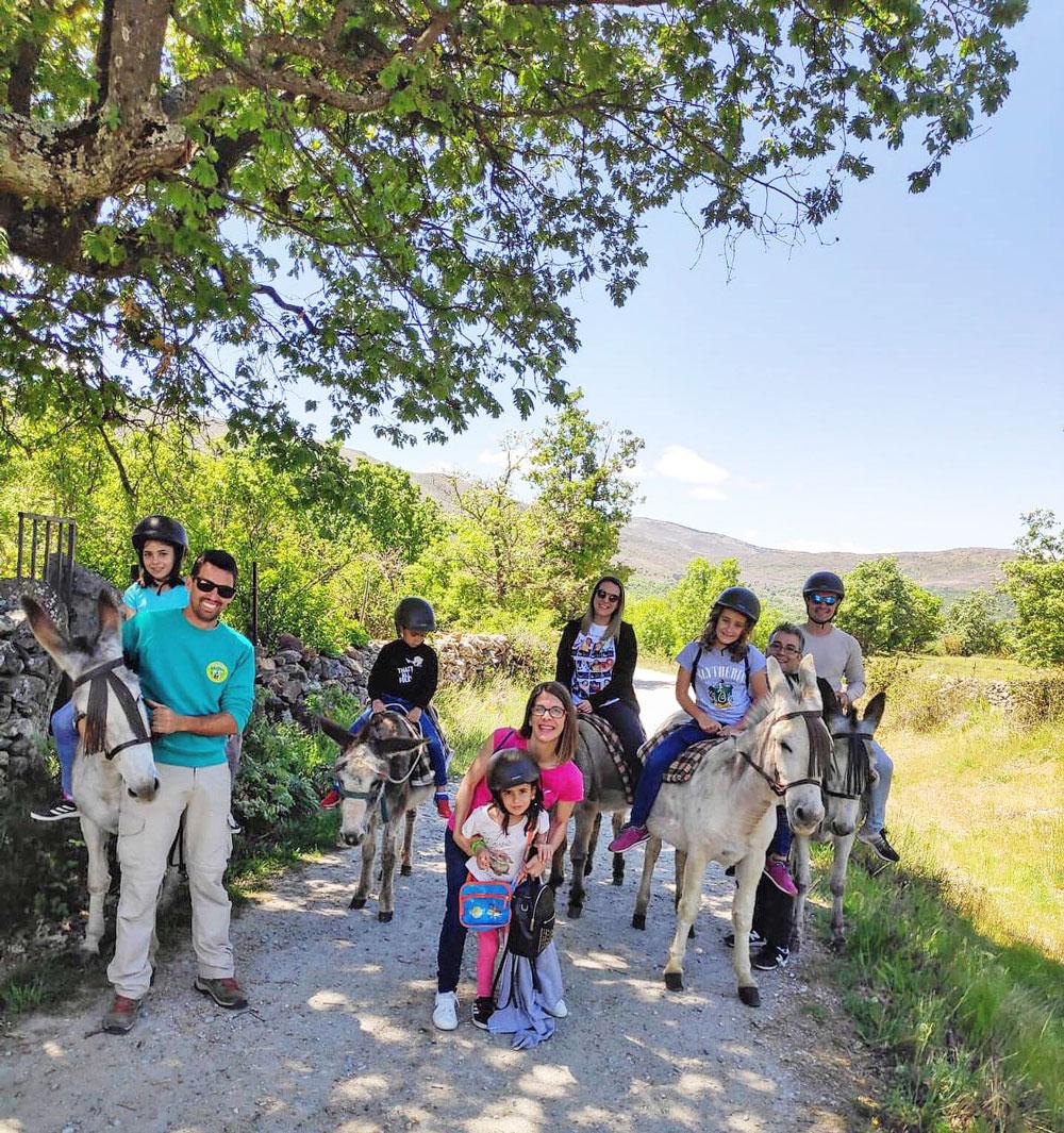 Vacaciones rurales en familia: un plan diferente con niños