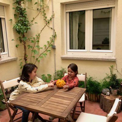 alojamiento rural con niños