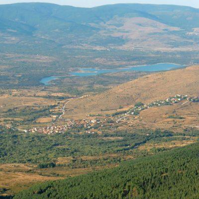 panoramica garganta de los montes