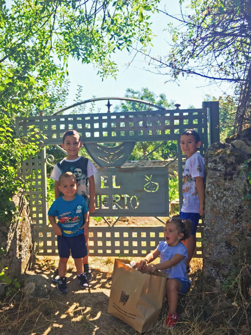 Dónde ir de vacaciones con niños en julio cerca de Madrid: ¡Agroturismo El Capriolo!