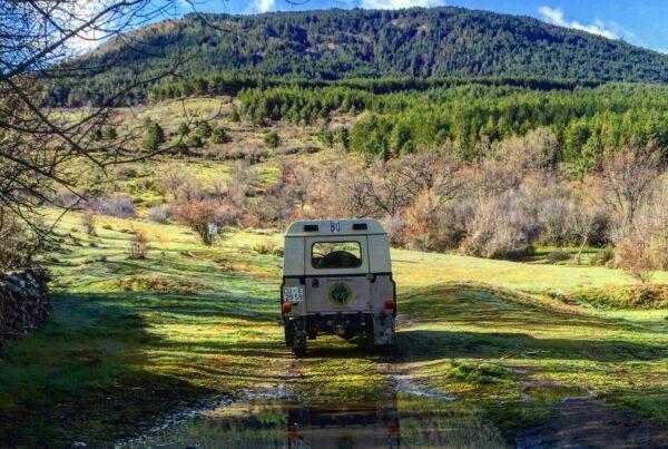 rutas 4x4 Sierra de Madrid