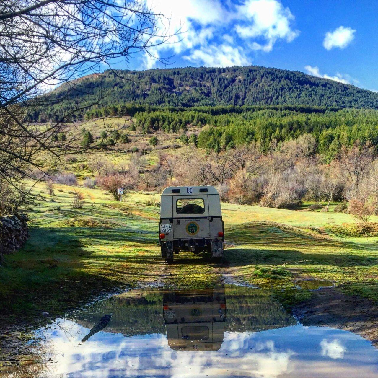 Rutas 4×4 por la Sierra de Madrid, una fantástica actividad rural en familia